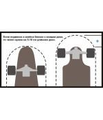 Чехол-рюкзак для лонгборда (120см)