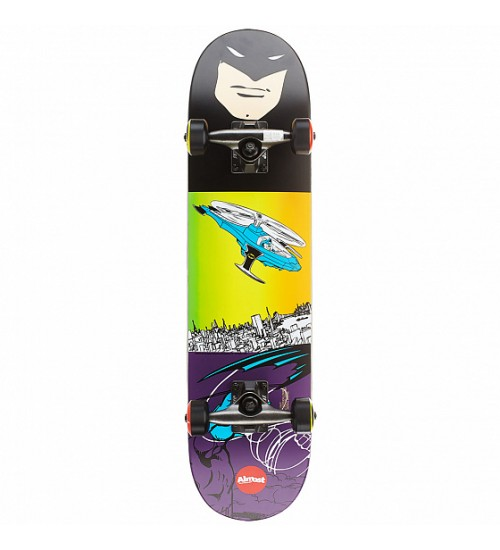 Скейтборд Almost SS17 Batman Flight Youth w/ Soft Wheels Mid Purple/Black 7,25