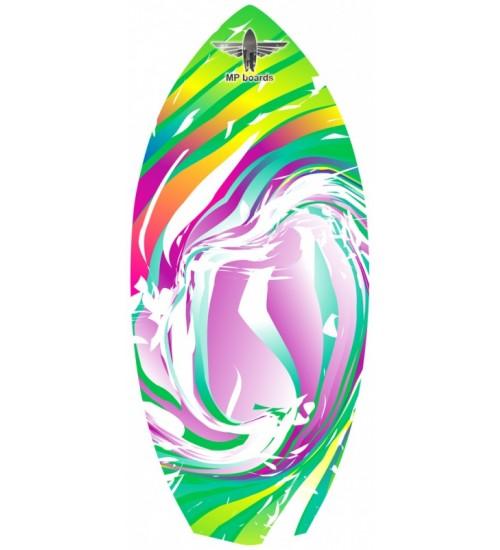 Баланссерф MP Diamond Rainbow Wave Green