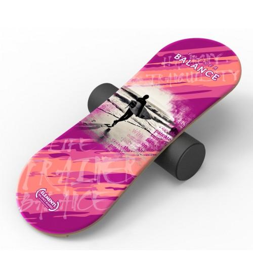Баланс борд Elements Surf, Pink длина 100 см