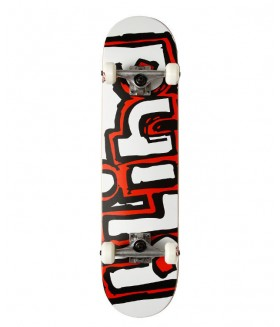 Скейтборд Blind S5 OG Matte Logo Youth White/Red MIN 7.0