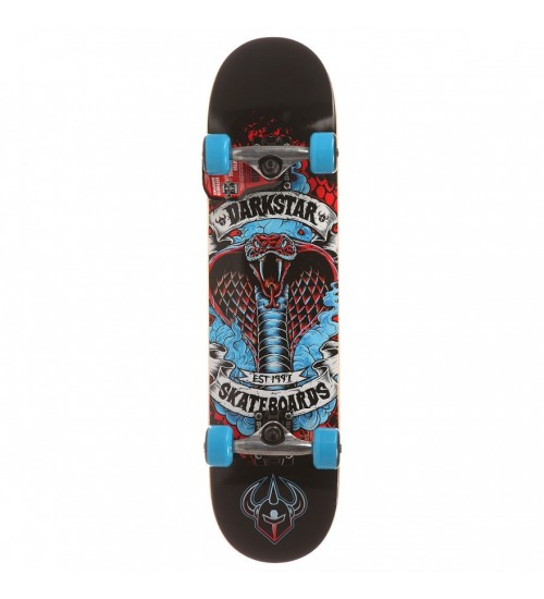 Скейтборд Darkstar S6 Python Youth Soft Wheel Blue Mid 7.25