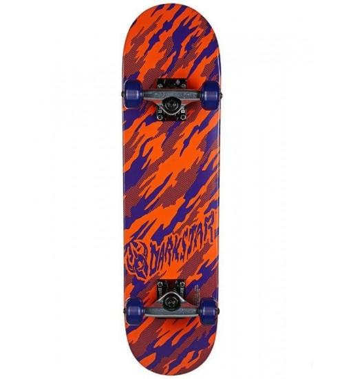 Скейтборд Darkstar S5 Camo Youth FP Orange/Purple MIN 7.0