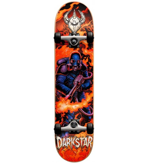 Скейтборд Darkstar S6 Fire Youth Blue Mid 7.25