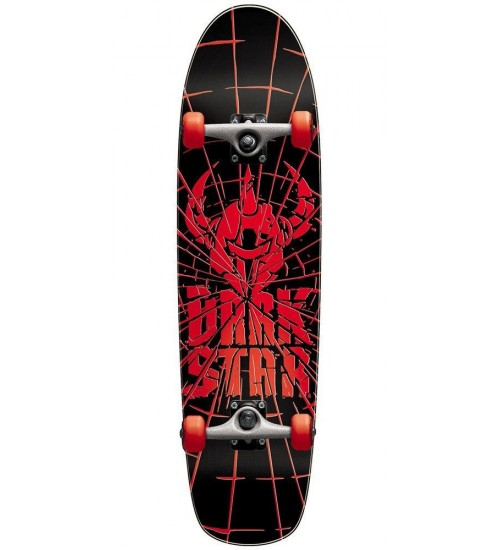 Скейтборд Darkstar S6 Shatter Youth Soft Wheel Red Mid 7.5