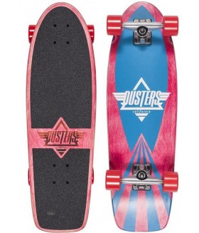 Лонгборд Dusters S6 Cazh Cruiser Kryptonics Red 28,5 in 8,75