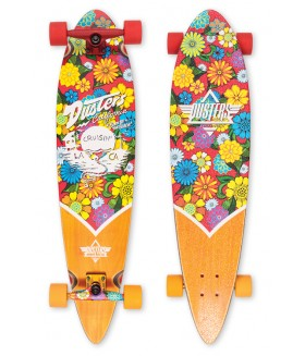 Лонгборд Dusters SS17 Cruisin Blossom Longboard Red/Yellow 37
