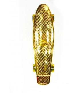 Миниборд Hubster Cruiser 22 Metallic Gold
