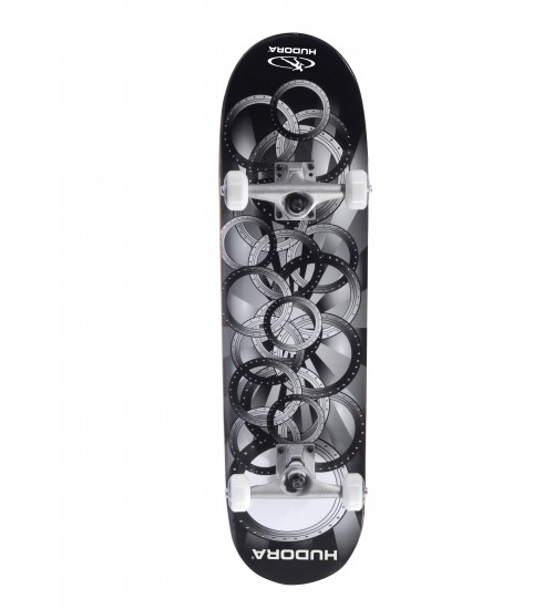 Скейтборд HUDORA FREAK BLACK ABEC 5