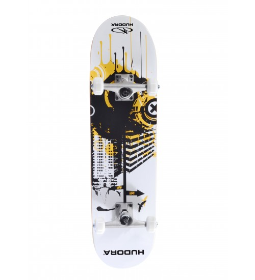 Скейтборд HUDORA FREAK WHITE ABEC 5