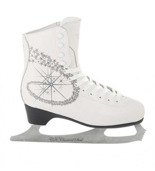Фигурные коньки СК Princess Lux Leather