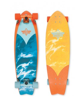 Лонгборд Dusters SS17 Kosher Cruiser Orange-Blue 33