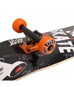 "Скейтборд Lboard fish skater blk/org 31"""