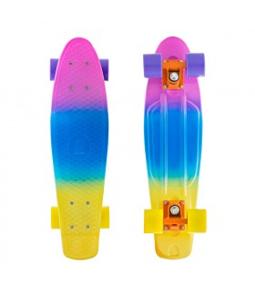 Миниборд LBoard 22 multi pink-yellow