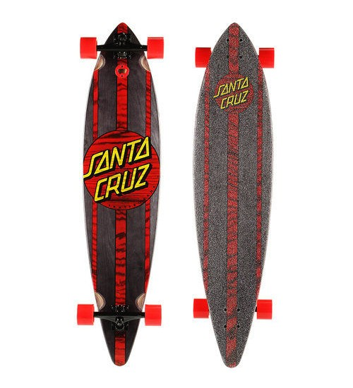 Лонгборд Santa Cruz Black Mahaka Pintail Cruzer 9.9 in 43.5""