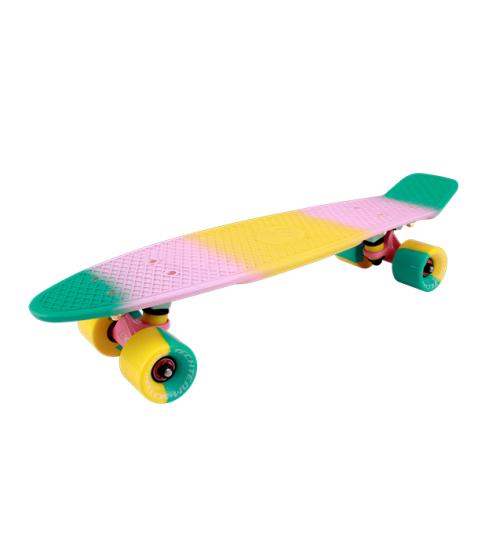 "Миниборд Multicolor 22"" 2018 green-pink"