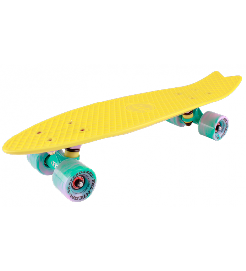 "Миниборд Tech Team Fishboard 23"" yellow"