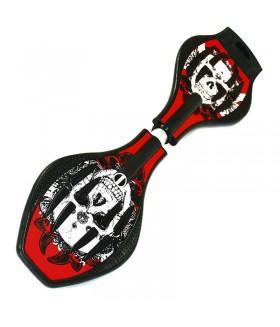 Двухколесный скейт Dragon Board Calavera красный