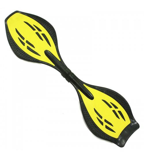 Двухколесный скейт Dragon Board Surf Junior желтый