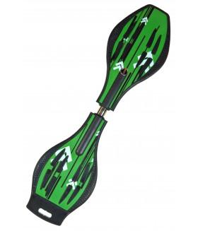 Двухколесный скейт Dragon Board Line зеленый