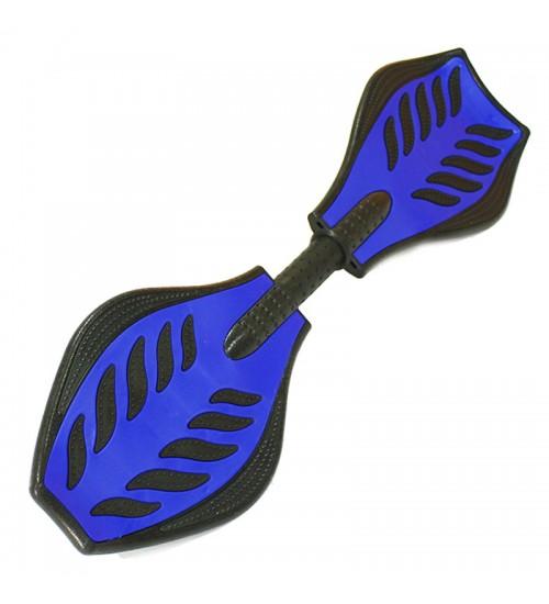 Скейт Waveboard Рипстик синий