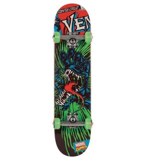 Скейтборд в сборе Santa Cruz & Marvel Venom Hand Mini 29,2 in 7,0
