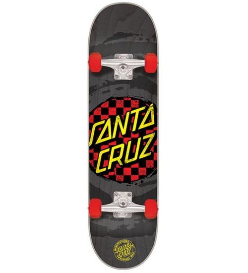 Скейтборд в сборе Santa Cruz S6 Check Dot Mini 29 in 7,0