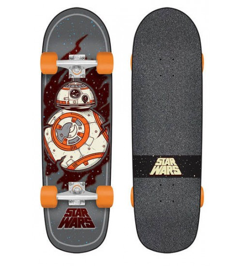 Скейтборд в сборе Santa Cruz S6 Star Wars Episode VII BB8 Cruzer 30,75 in 8,9